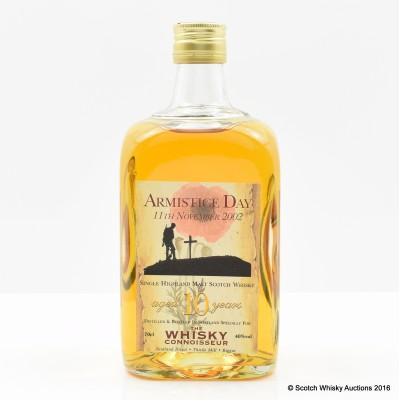 Armistice Day 10 Year Old Whisky Connoisseur