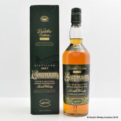 Cragganmore Distillers Edition 1987
