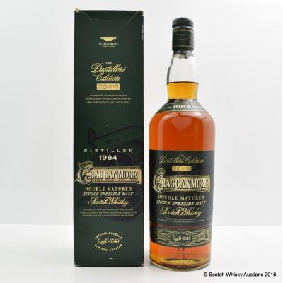 Cragganmore Distillers Edition 1984 1L