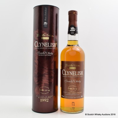 Clynelish Distillers Edition 1992