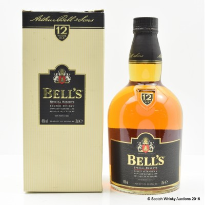 Bell's 12 Year Old Special Reserve