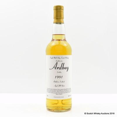 Ardbeg 1991 20 Year Old Private Bottling
