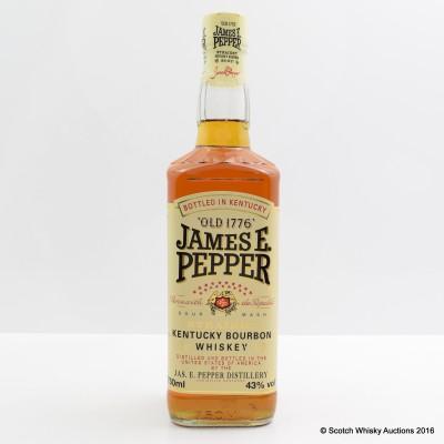 James E.Pepper Bourbon 75cl