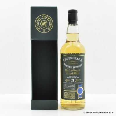 Ardbeg 1991 21 Year Old Cadenhead's