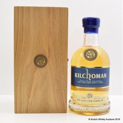 Kilchoman 100% Islay Cask Strength