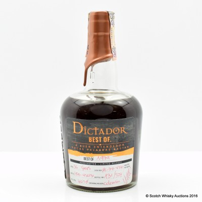 Dictador Best Of 1979 36 Year Old Rum