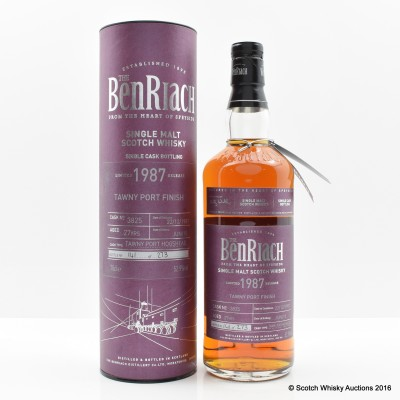 BenRiach 1987 27 Year Old Tawny Port Finish