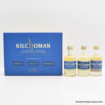 Kilchoman Connoisseurs Pack 3 x 5cl