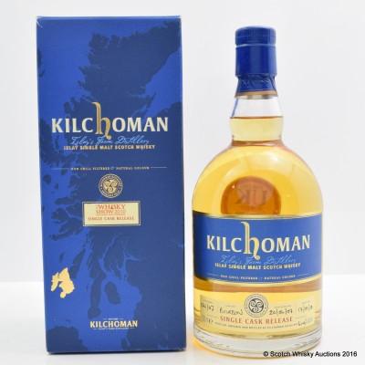 Kilchoman Single Cask for The Whisky Show 2010
