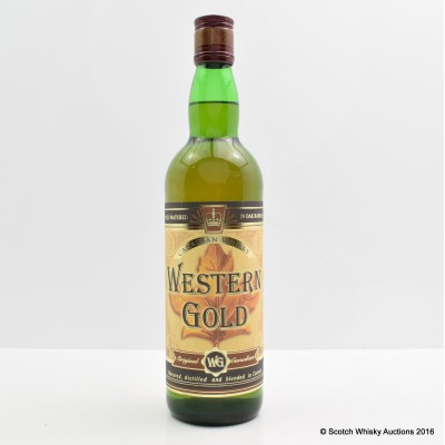 Western Gold Canadian Whisky