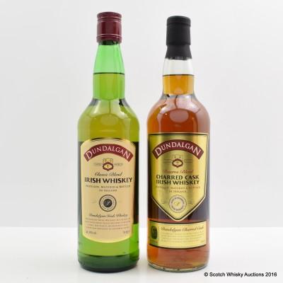 Dundalgan Charred Cask & Dundalgan Classic Blend
