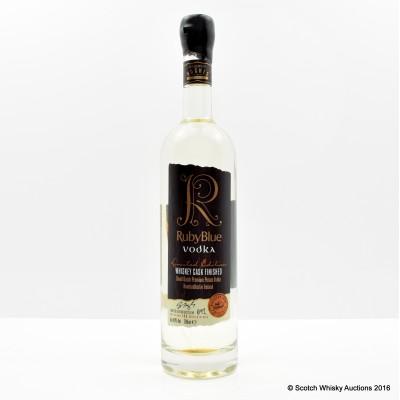 Ruby Blue Whisky Cask Finished Vodka