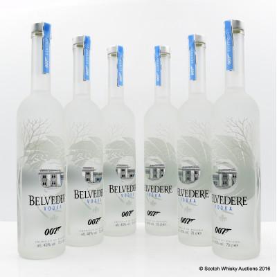 Belvedere 007 Edition x 6