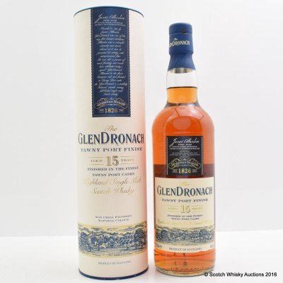 GlenDronach 15 Year Old Tawny Port Finish