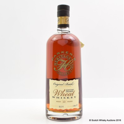 Parker's Heritage Collection 13 Year Old Wheat Whisky 75cl