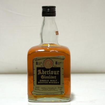 Aberlour Glenlivet 8 Year old 75cl Dumpy Bottle