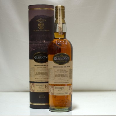 Glengoyne 16 Year Old Glenguin Shiraz