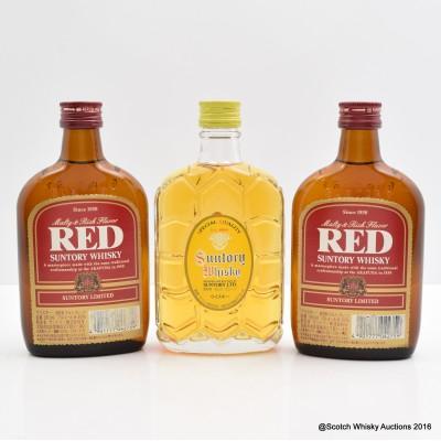 Suntory Red 18cl x 2 & Suntory Special Quality 18cl