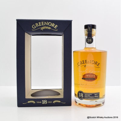 Cooley Greenore 18 Year Old