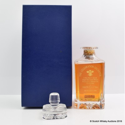 Prince of Wales 50th Birthday Celebration Decanter