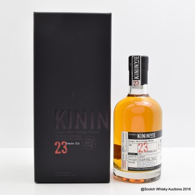Kininvie 23 Year Old Batch #2 35cl