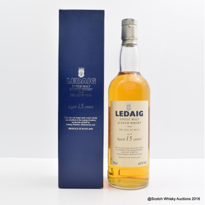 Ledaig 15 Year Old