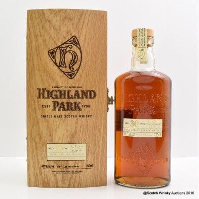 Highland Park 30 Year Old 75cl