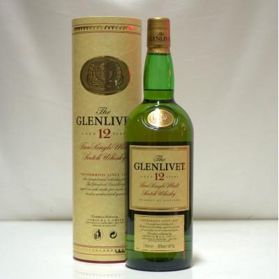 Glenlivet 12 Year Old 1L