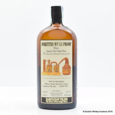 Forsyths WP 151° Proof Rum