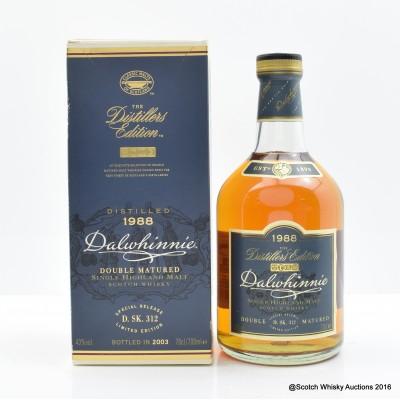 Dalwhinnie Distillers Edition 1988