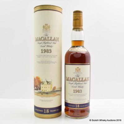Macallan 18 Year Old 1983