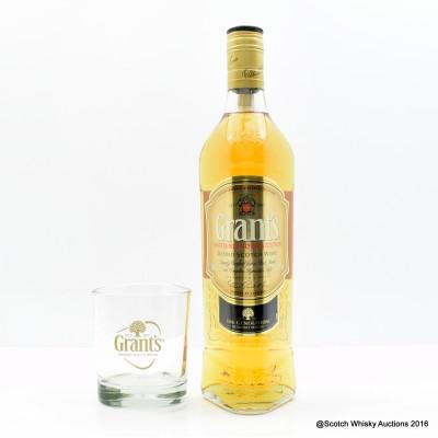 Grant's Master Blender's Edition & Glass