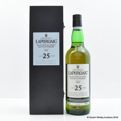 Laphroaig 25 Year Old 1st Release