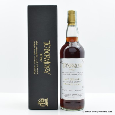 Tobermory 33 Year Old Private Stock