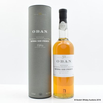 Oban 1969 32 Year Old