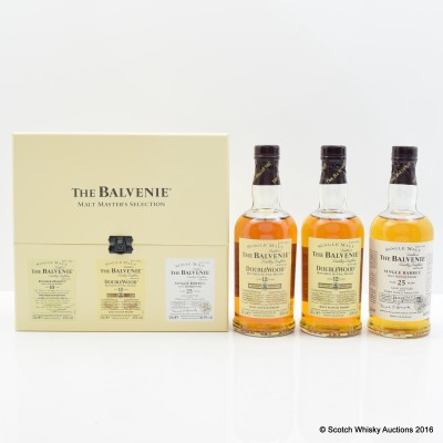 Balvenie Malt Master's Selection 3 x 20cl