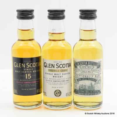 Glen Scotia Miniatures 3 x 5cl