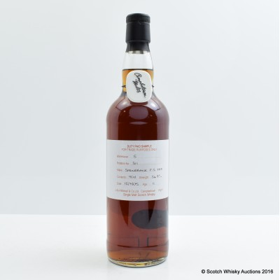 Springbank 2005 11 Year Old Sherry Cask Duty Paid Sample
