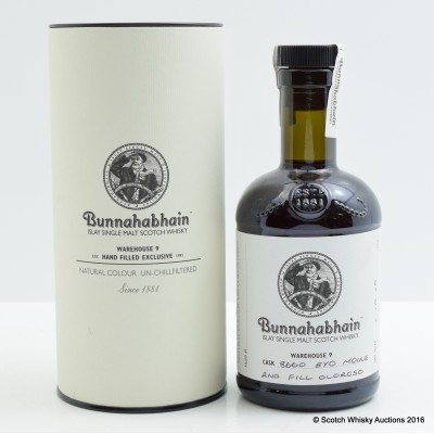 BunnahabhainHand Filled Moine 2nd Fill Oloroso 20cl