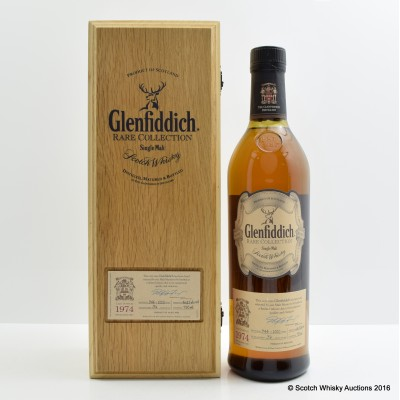 Glenfiddich 1974 36 Year Old Rare Collection 75cl