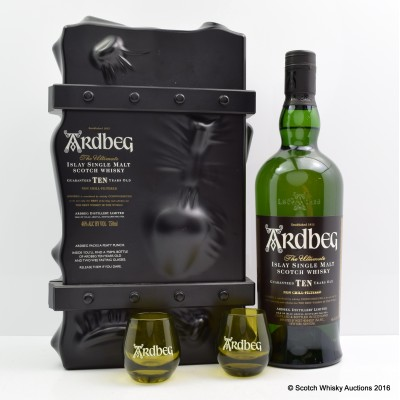 Ardbeg 10 Year Old Escape Pack 75cl