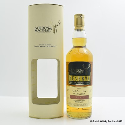 Caol Ila 2003 Gordon & Macphail Germany Exclusive
