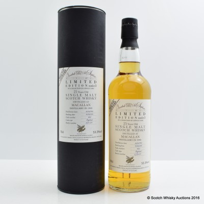 Macallan 1990 25 Year Old for Vinothek St.Stephan