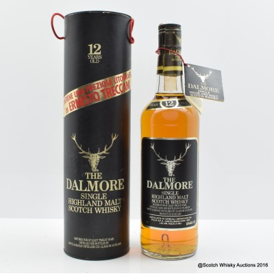 Dalmore 12 Year Old Old Style 75cl with Painting