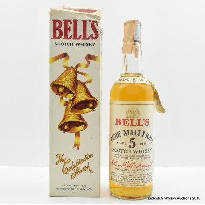 Bell's 5 Year Old Pure Malt 75cl