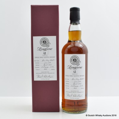 Longrow 1996 12 Year Old Society Bottling