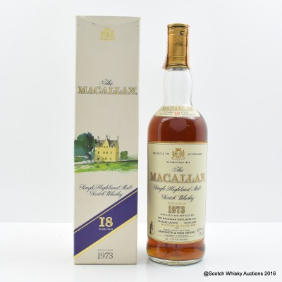Macallan 18 Year Old 1973 75cl
