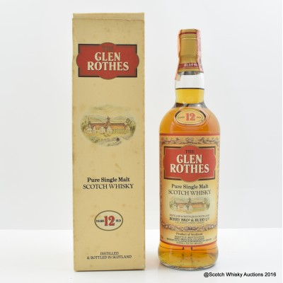 Glenrothes 12 Year Old Old Style 75cl