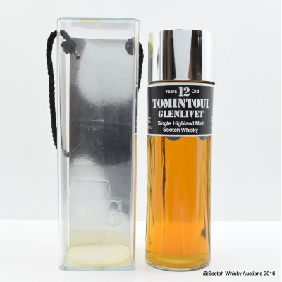 Tomintoul-Glenlivet 12 Year Old Perfume Bottle 75cl