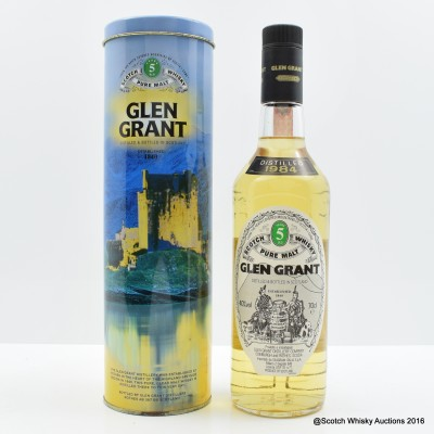 Glen Grant 1984 5 Year Old